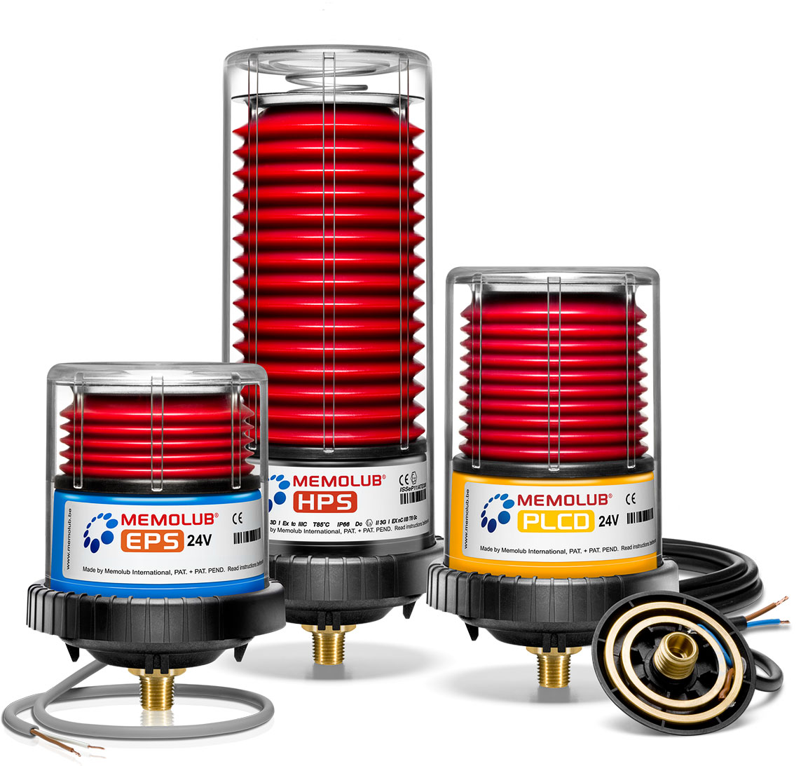 Memolub Single-Point Lubricators