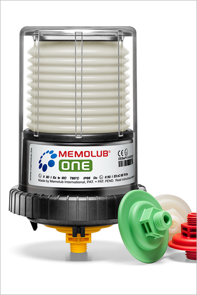 Memolub One - Single Point Lubricator | Power Lube Industrial
