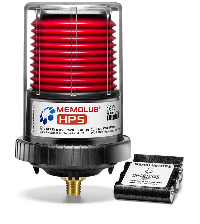 Memolub HPS - Single Point Automatic Lubricator   Power Lube Industrial